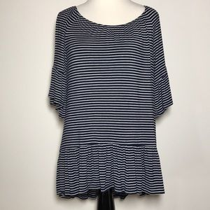 New Directions Bell-Sleeve Top, Size S, Like New